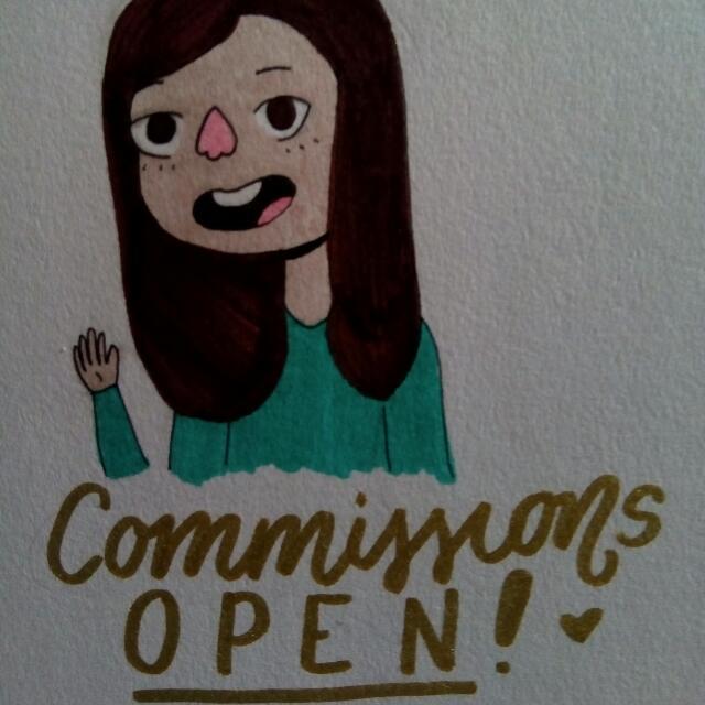 ❤ ART COMMISSIONS OPEN! ❤