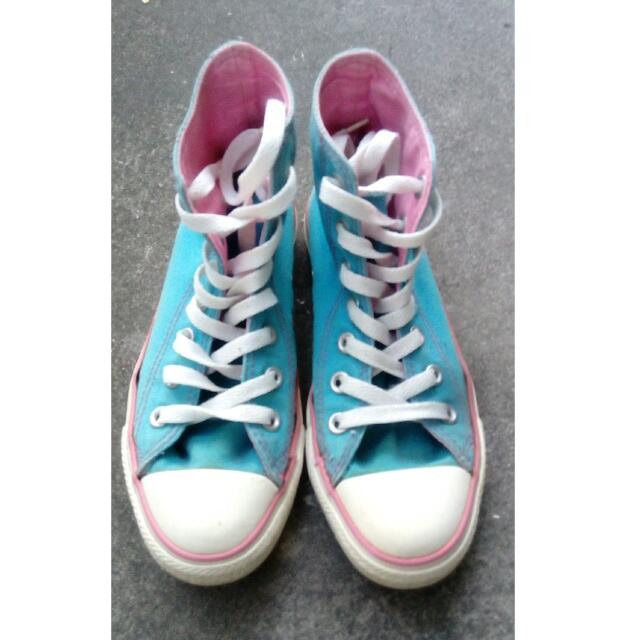 二手 Converse 高筒帆布鞋