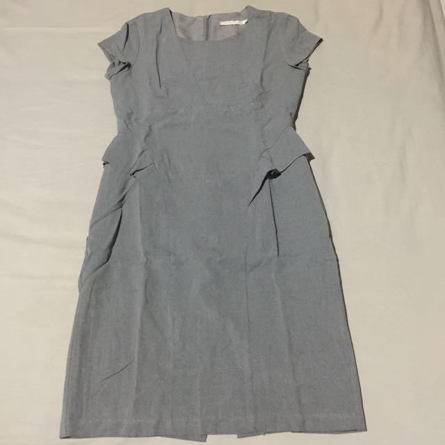 Accent - Peplum Dress