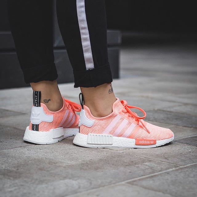 0c4585a72be74 Adidas NMD R1 Sunset Glow