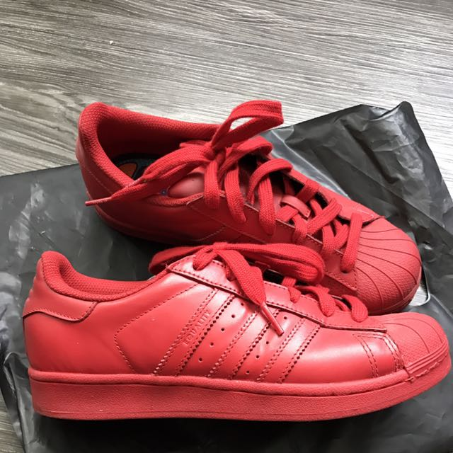 reputable site 4d578 b5559 Adidas Superstar X Pharrell Williams - Red (Supercolor pack ...