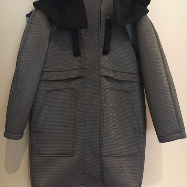 Alexander Wang X H&M Neoprene Coat