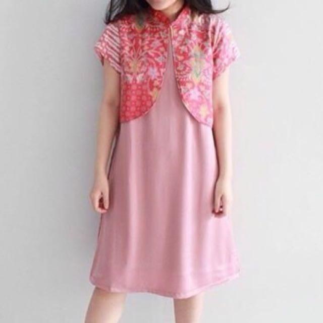 Alma Dress By DXF Batik