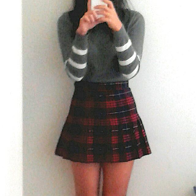 36361fa750 American Apparel Matilda Plaid Tennis Skirt, Women's Fashion ...
