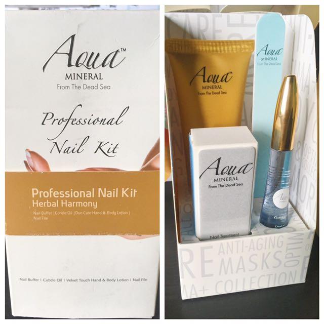 Aqua Mineral Professional Nail Kit