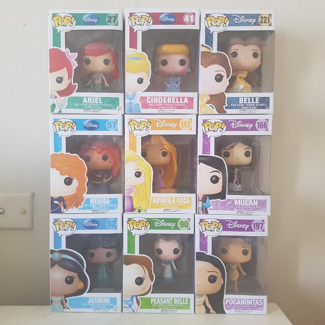 Assorted Disney Funko! Pop Vinyls ($15 each)