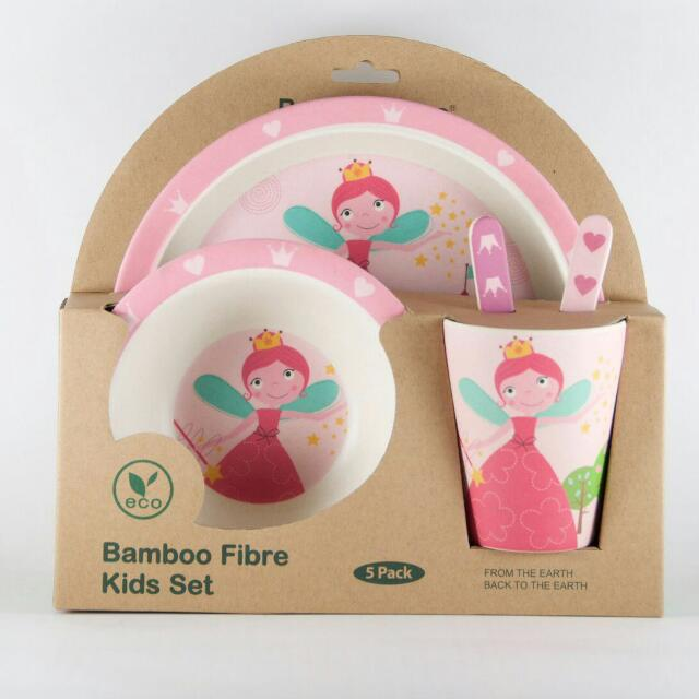 Bambooware Kids Blister Set