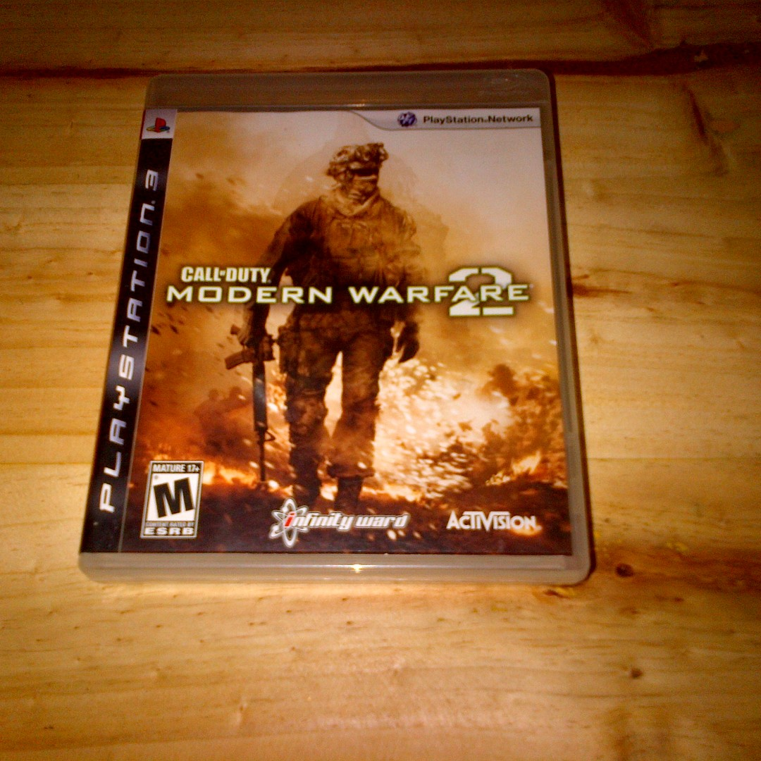 BD PS3 Game Original Call Of Duty Modern Warfare 2( Reg 1, 2