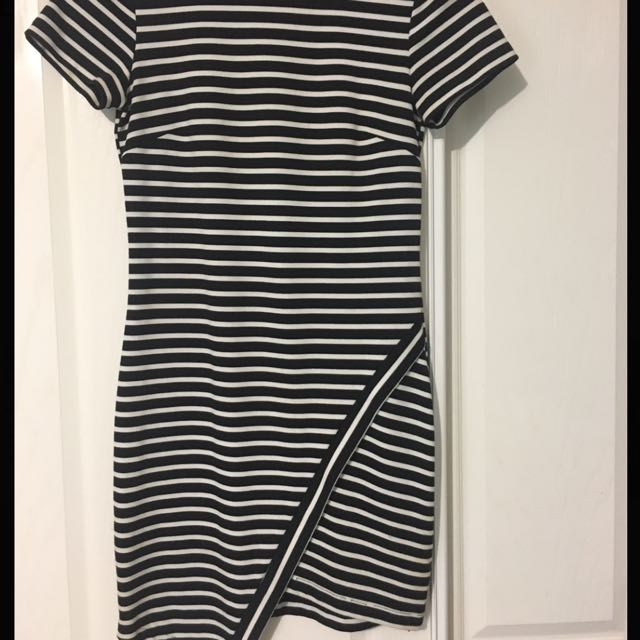 Bec and Bridge Striped Dress -size 10