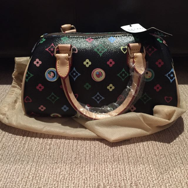 Black Pictured Bag