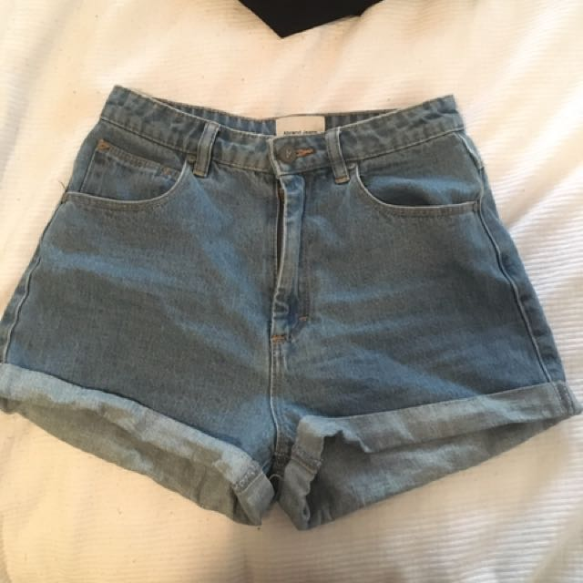 Blue Abrand Shorts