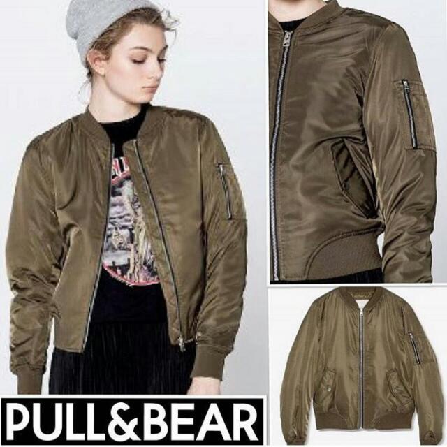 Bomber Jacket PullnBear