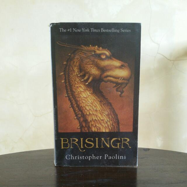 Brisingr by Christopher Paolini (in English)