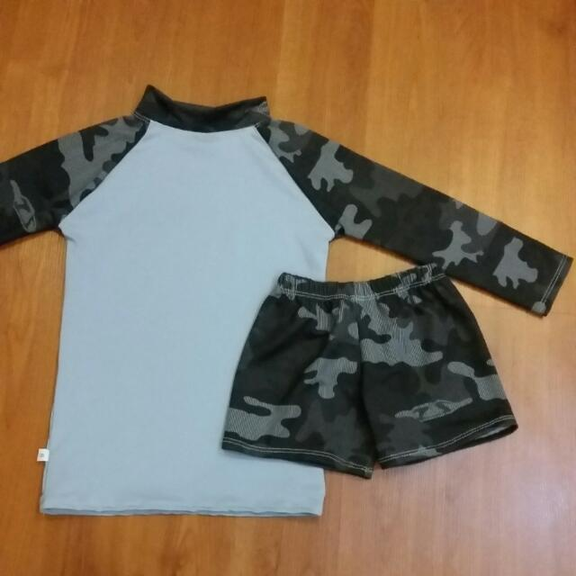 Camouflage Rash Guard