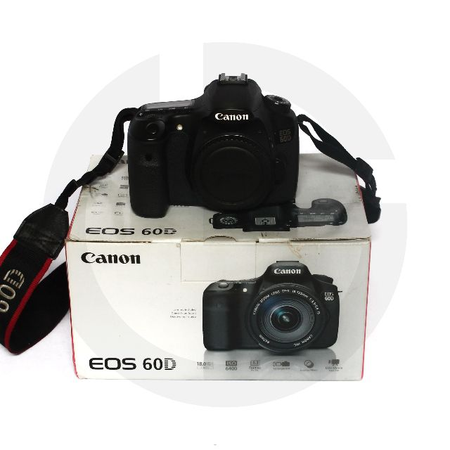 Canon EOS 60D Body Only (BO) eks Garansi Internasional