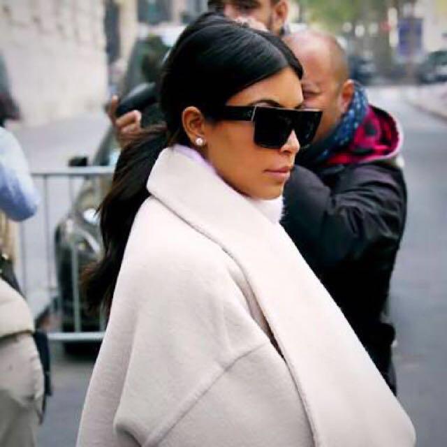 CELINE Polarised Black Sunglasses