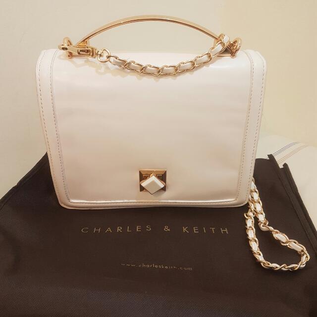 CK White Bag