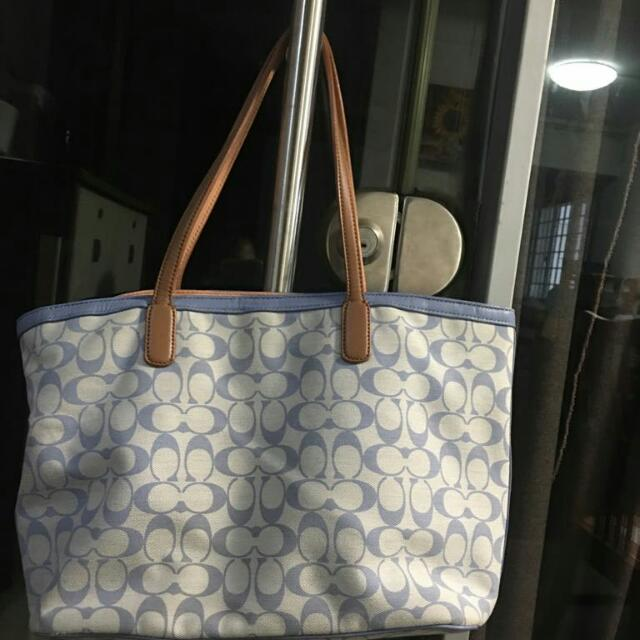 Coach Fabric Tote Bag Luxury Bags Wallets On Carou