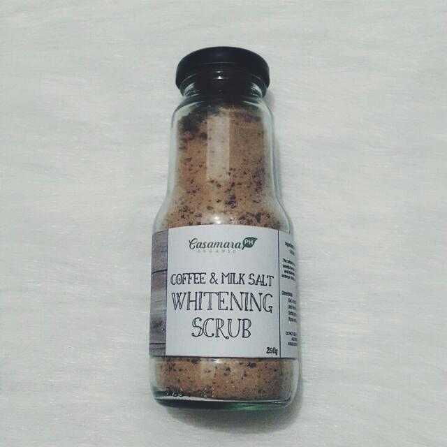 Coffee & Milk Salt Scrub 250g