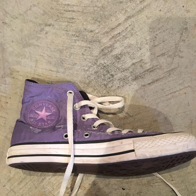 Converse Purple Size 7