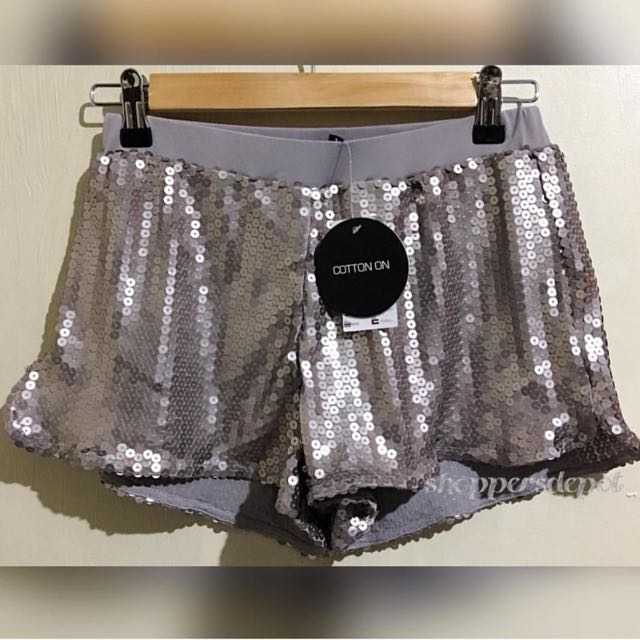 Cotton On Sequin Shorts