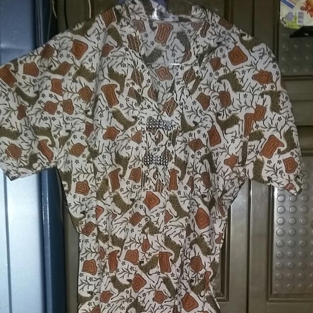 #BARTER Dres Batik