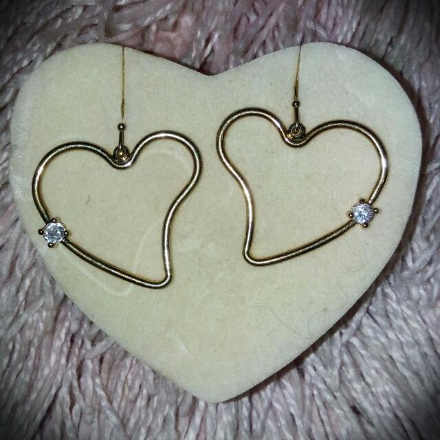 Heart-shaped Earings