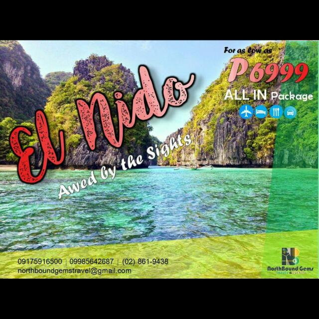 El Nido Full Package with Airfare