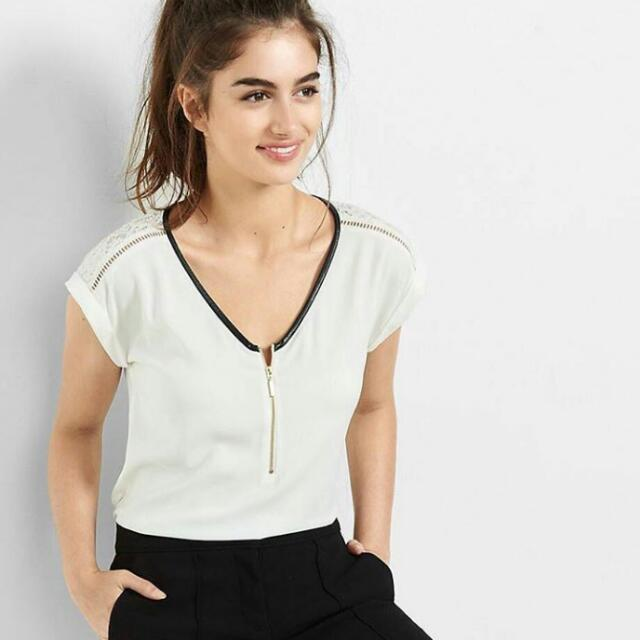 Express White Top Lace