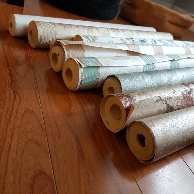 Gorgeous Rolls Of Wallpaper
