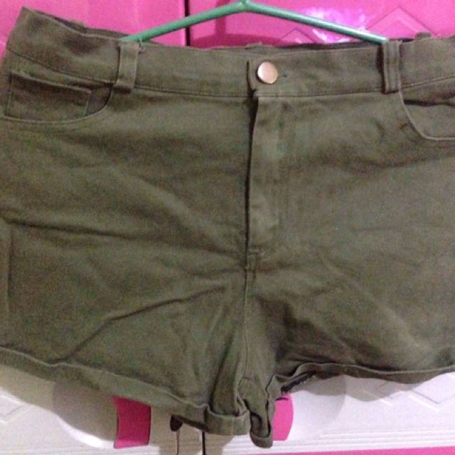 Green Army Short