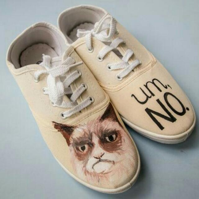 Grumpy Cat Shoes
