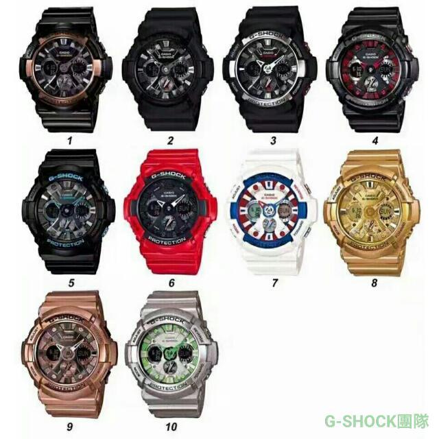 【正品】G-SHOCK手錶(三眼怪)⌚