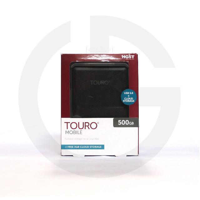 """Harddisk HDD Eksternal HGST TOURO 500 GB USB 3.0 2.5"""""""