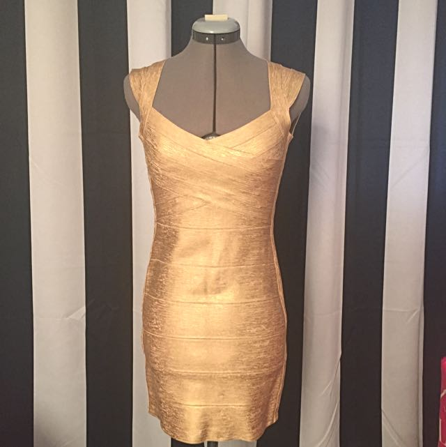 Hervy Leger Iman Dress Authentic
