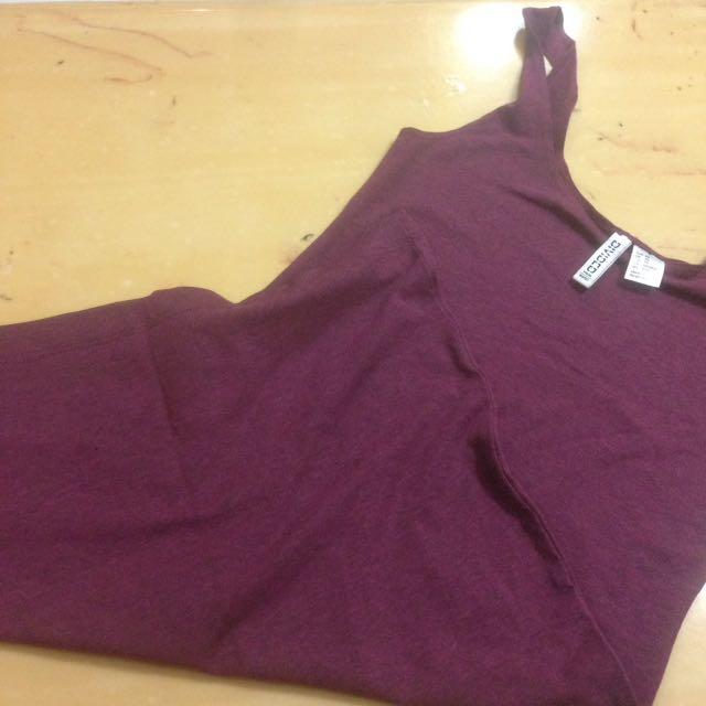 H&M Maroon Tight Dress
