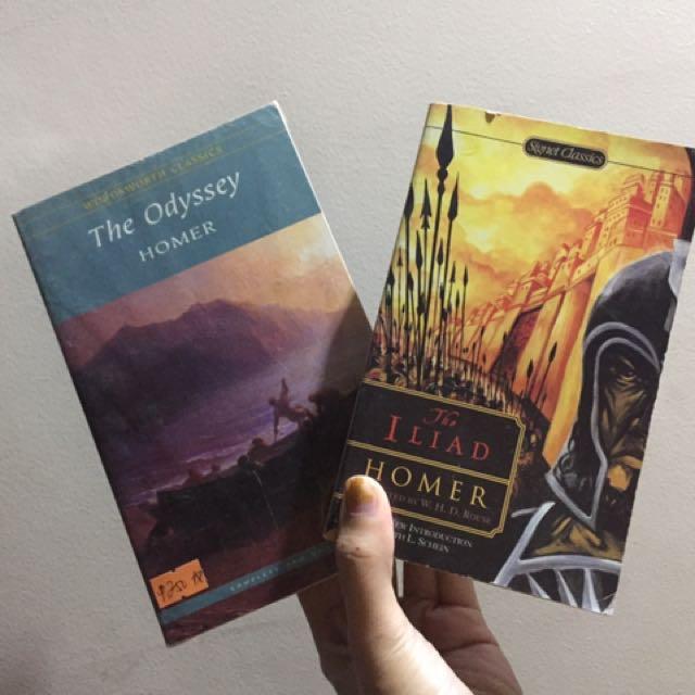 Iliad And Odyssey Set