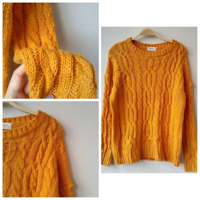 Import Sweater Orange