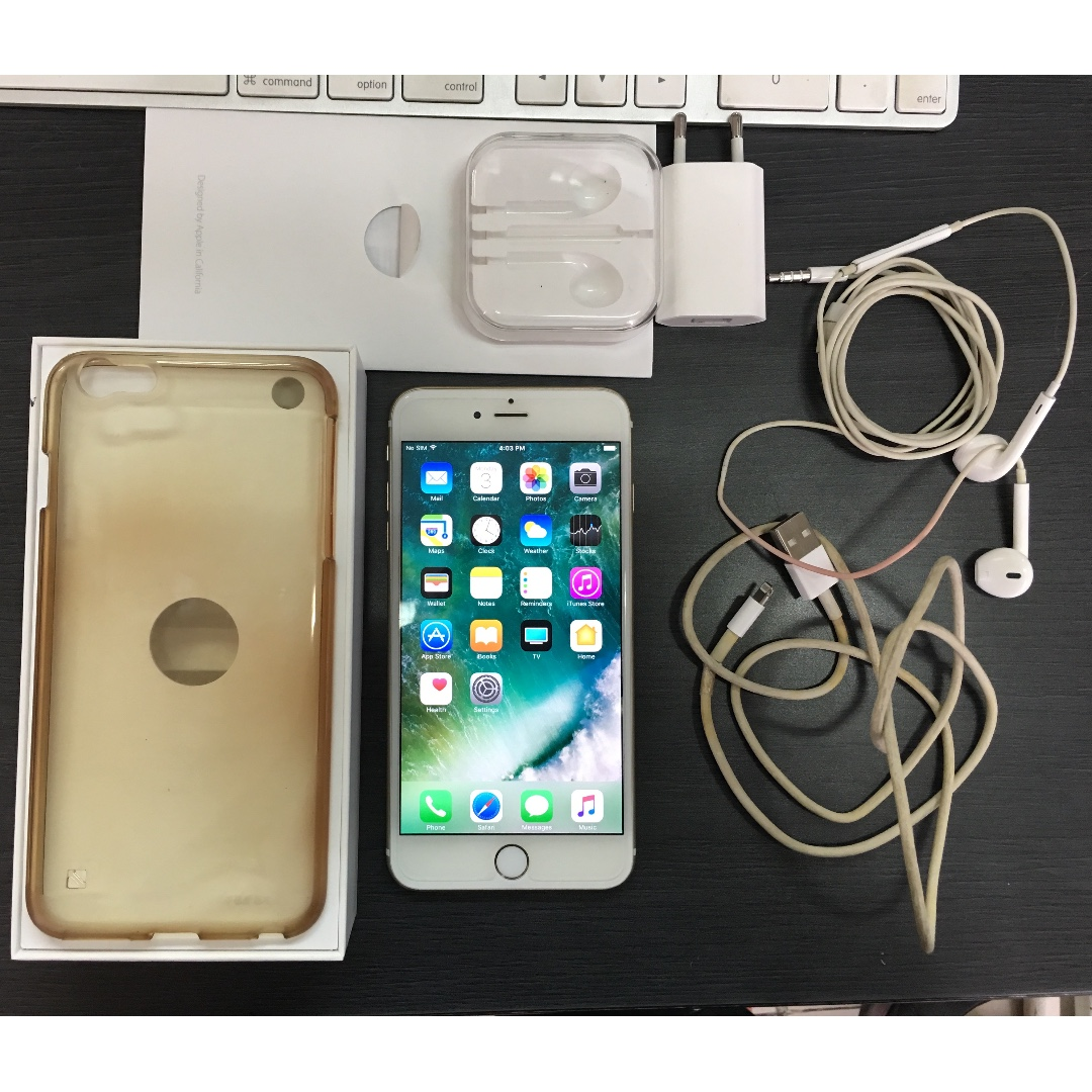 iPhone 6+ Plus 16GB Gold FU Ex Grs Resmi iBox