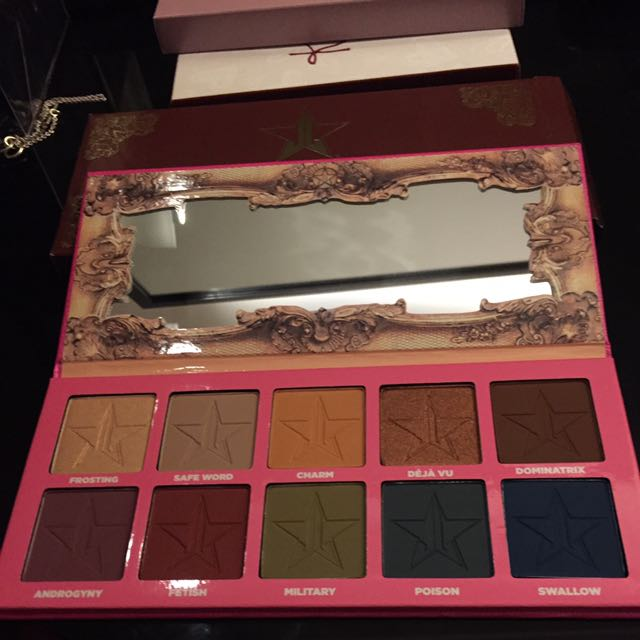 Jeffree Star Androgyny Eyeshadow Palette AUTH BNIB