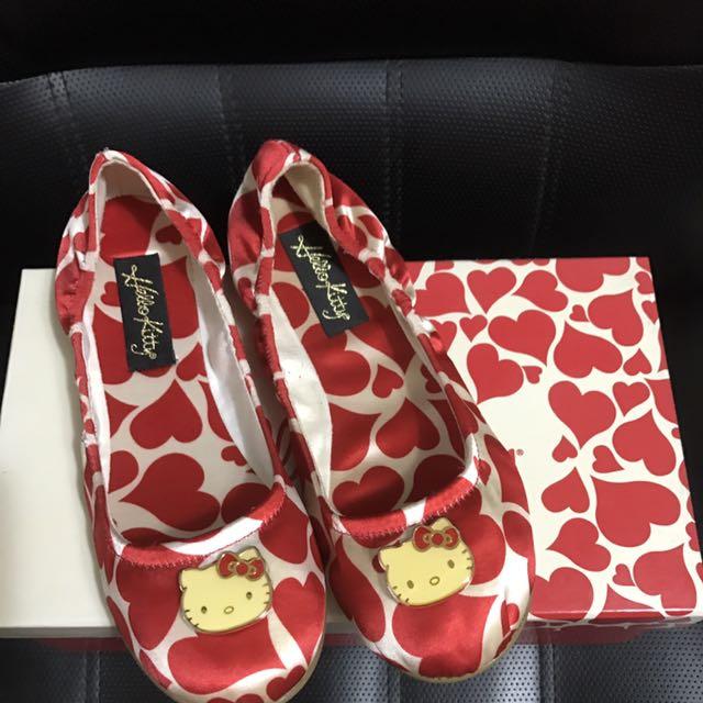 專櫃kitty 娃娃包鞋