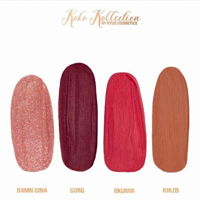 Kylie KOKO Kollection Shade DAMN GINA