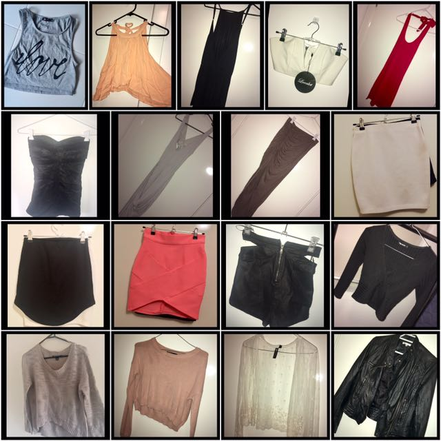 Ladies Mixed Clothing Bundle (size 6/XS)
