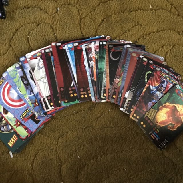 Marvel Character Cards