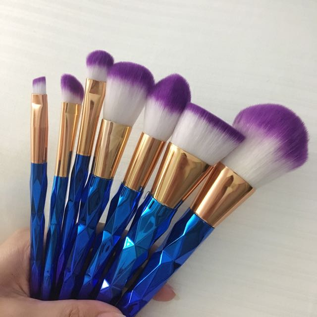 Mermaid Make Up Brushes