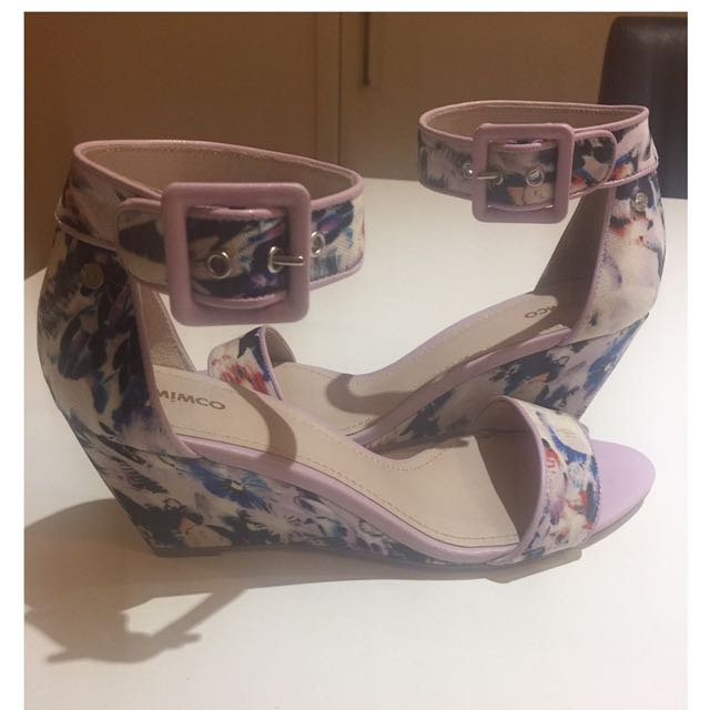 MImco Amethyst Wedges Brand New S
