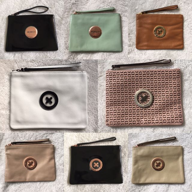 Mimco Medium Pouches