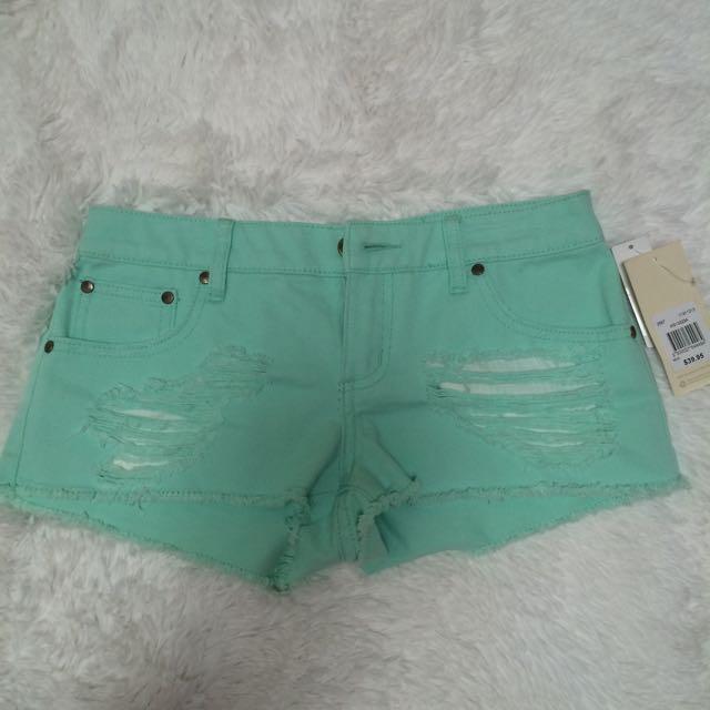 Miss shop denim ripped shorts
