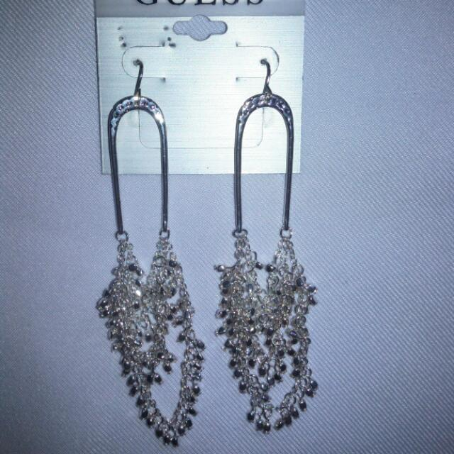 💞Missy's GUESS Silver Earrings