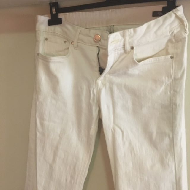 MNG off White Jeans